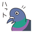 鳥ダジャレスタンプ