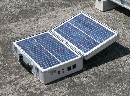 太陽光発電機「ソラウナギ」