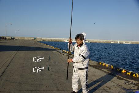 富武士で釣り