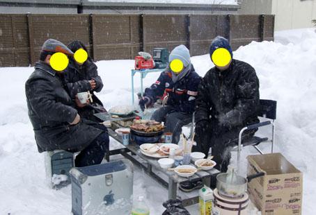 寒中肉祭り