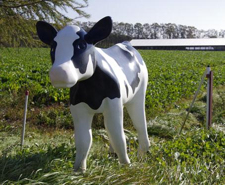 牛の人形、アズマイファーム