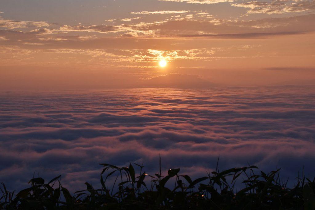 津別峠の雲海