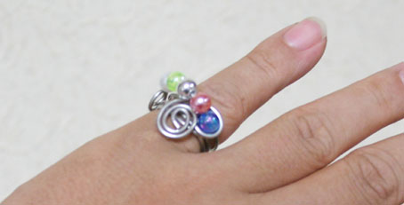 針金の指輪
