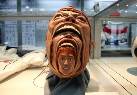 新庄選手のマスク