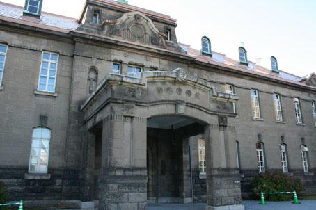 札幌軟石仕様の建物