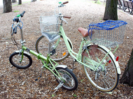 リペアムゲルタイヤにした自転車